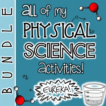 Physical Science Bundle: Lessons, Games, Doodle Notes and MORE!