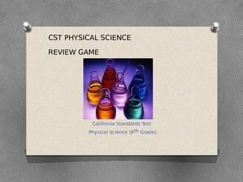 Physical Science CST PowerPoint Game