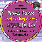 Physical Science Card Sorting Activity PACKAGE