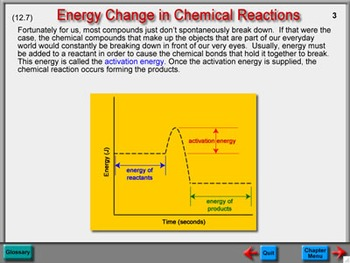 Physical Science Chapter 12: Chemical Energy