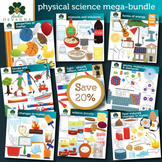 Physical Science Clip Art Mega-bundle