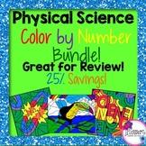 Color by Number Science BUNDLE