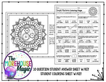 PHYSICAL SCIENCE COLOR BY NUMBER, QUIZZES - GROWING BUNDLE!
