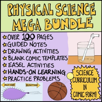 Physical Science Comics Bundle