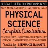NGSS Physical Science Physics Curriculum - Distance Learning