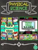 Physical Science Complete Year Bundle (Editable Notes and