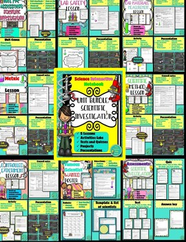 Physical Science Complete Year Interactive Notebook