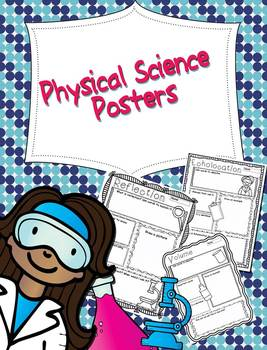 Physical Science Concept Poster
