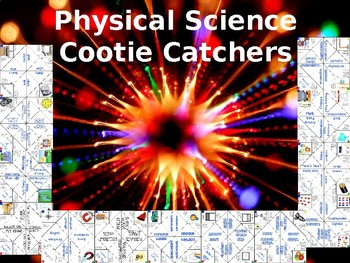 Physical Science Cootie Catchers