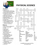 Physical Science Crossword