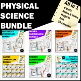 Physical Science Curriculum Bundle- Matter Force Energy El