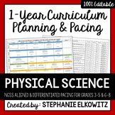Physical Science Physics Curriculum Differentiated Planning and Pacing Guide