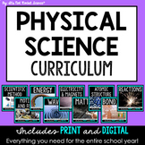 Physical Science Curriculum - FULL YEAR Bundle - Distance Learning Compatible