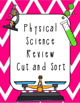 Physical Science Cut and Sort