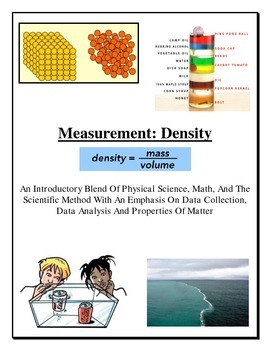 Physical Science: Density LAB (Mass and Volume) w/ Graphing (Engaging and FUN!)