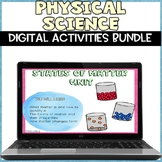 Physical Science Digital Distance Learning Bundle
