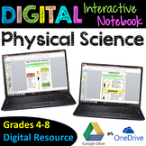 Physical Science Digital Interactive Notebook - Google Drive Resource