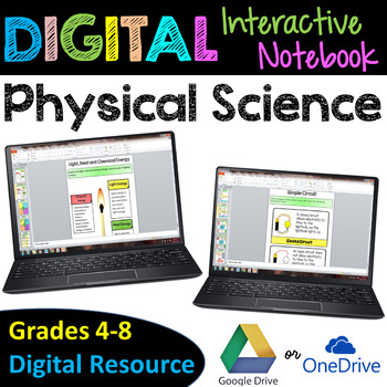 Physical Science Digital Interactive Notebook - Google Dri
