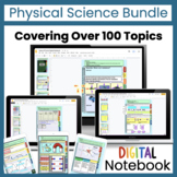 Physical Science Digital Interactive Notebook Bundle | Dis