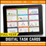 Physical Science Digital Task Card Bundle - Distance Learning