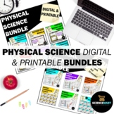 Physical Science Digital and Printable Bundles | Science I