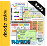 Physical Science Doodle Notes Bundle