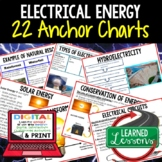 Physical Science Electrical Energy Anchor Charts