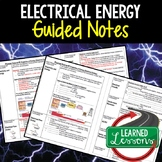 Physical Science Electrical Energy Guided Notes