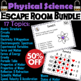 Physical Science Escape Rooms: Scientific Method, Electricity and Circuits, etc.