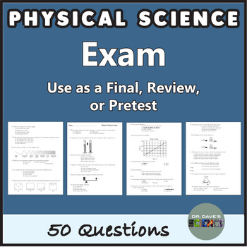 Physical Science Exam and Test Prep