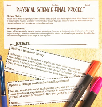 Physical Science Final Project