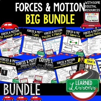 Physical Science Forces & Motions (Physical Science BUNDLE)