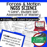 Physical Science Forces & Motions I Cans Student Self Assessment