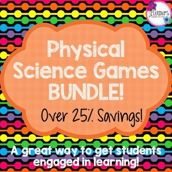 Physical Science Games BUNDLE