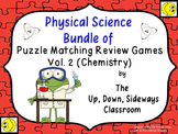 Physical Science Bundle of Puzzle Matching Review Vol #2 (