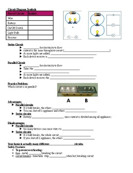 Physical Science Guided Notes (for Electricity PowerPoint)