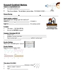 Physical Science Guided Notes (for Sound Waves PowerPoint)