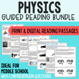 Physical Science Guided Readings Bundle