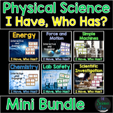 "Physical Science ""I Have, Who Has?"" - Mini Bundle"