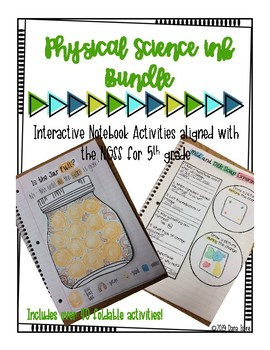 5th Grade NGSS Physical Science INB Unit