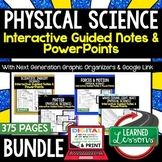 Physical Science Guided Notes and PowerPoints NGSSs, Googl