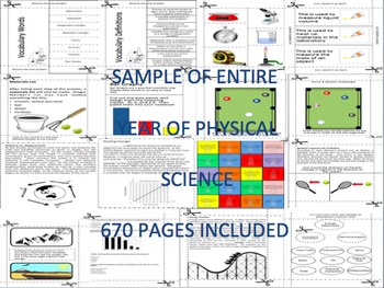 Physical Science Bundle