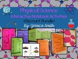 Physical Science Interactive Notebook Foldables BUNDLE