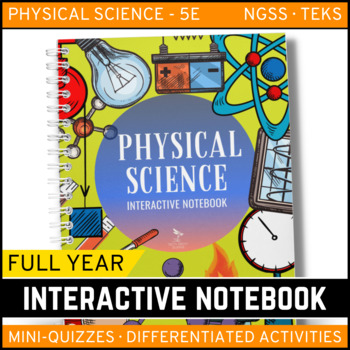 Physical Science Interactive Notebook The Complete Bundle For An - Interactive notebooks high school