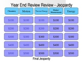 Physical Science Jeopardy Game - End of Year Review Game
