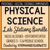 Physical Science Physics Lab Stations Bundle