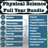 Physical Science Lesson Plans Bundle