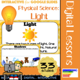 Physical Science: Light Interactive for Google Classroom