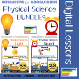Physical Science: Light & Sound BUNDLE for Google Classroom