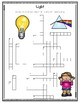 Physical Science (Light, Sound, Simple Machines) Crossword Puzzle Reviews